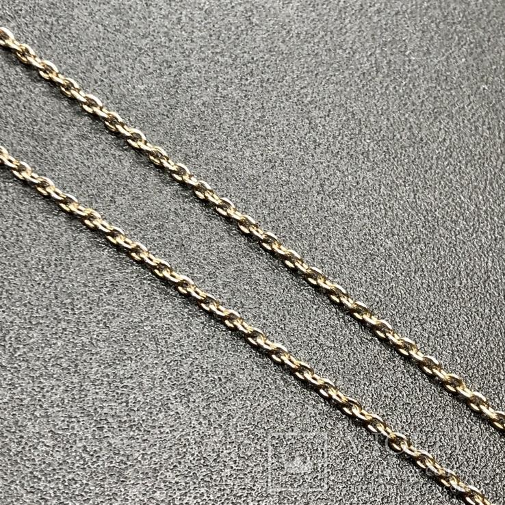 Подвес серебро с аметистом на цепочке, фото №4