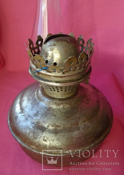 Старая керосиновая лампа., фото №8