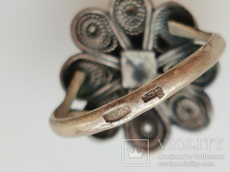 Кольцо, Лазурит, фото №5