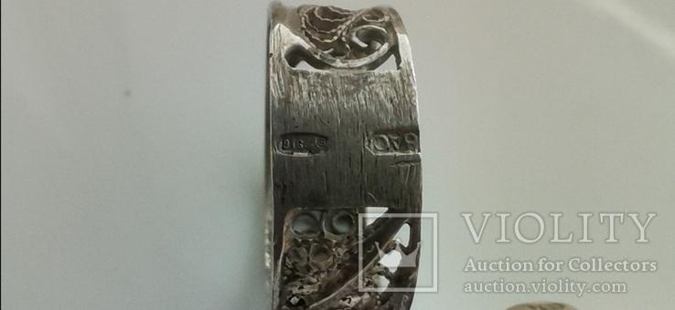Кольцо, серебро, фото №3