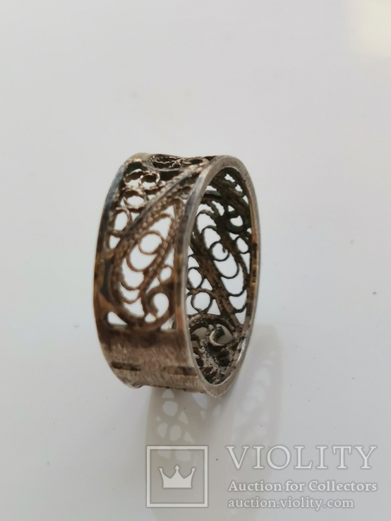 Кольцо, серебро, фото №5