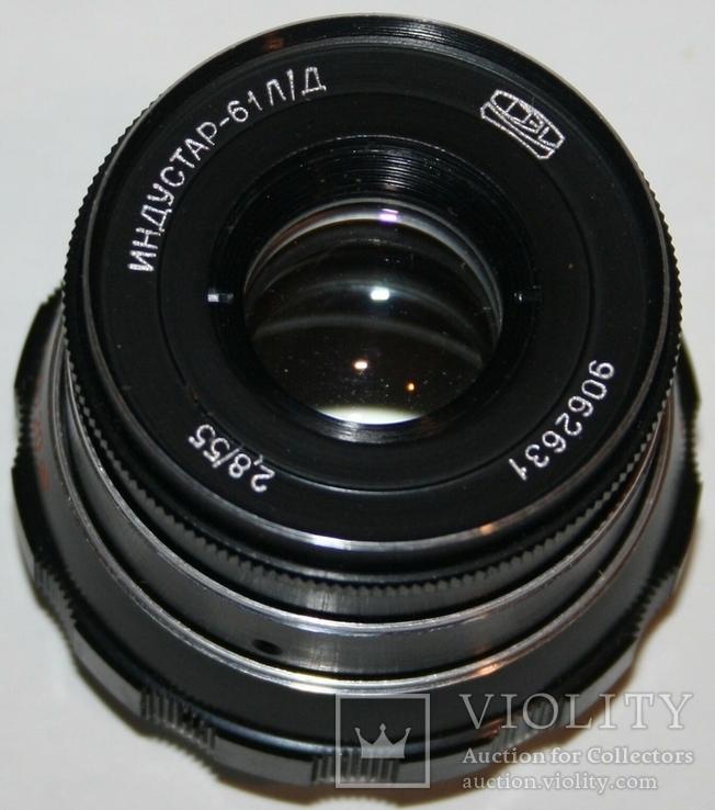 Объектив Индустар-61 Л/Д (2,8:55.,дальномерный,макросъемка), фото №2
