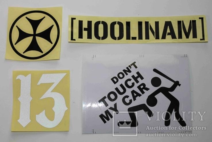 4 Наклейки на авто, фото №2