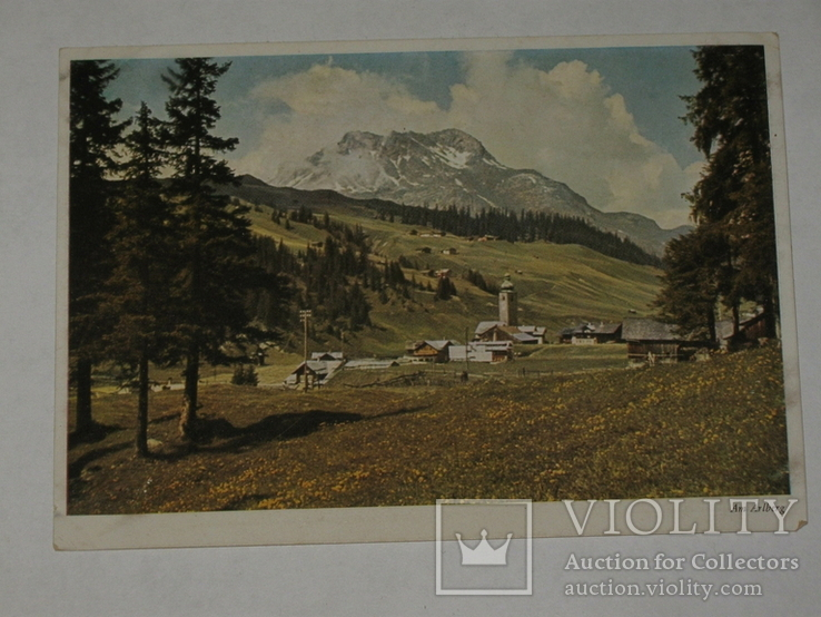 Открытка 1930-1950 год.  №149, фото №3