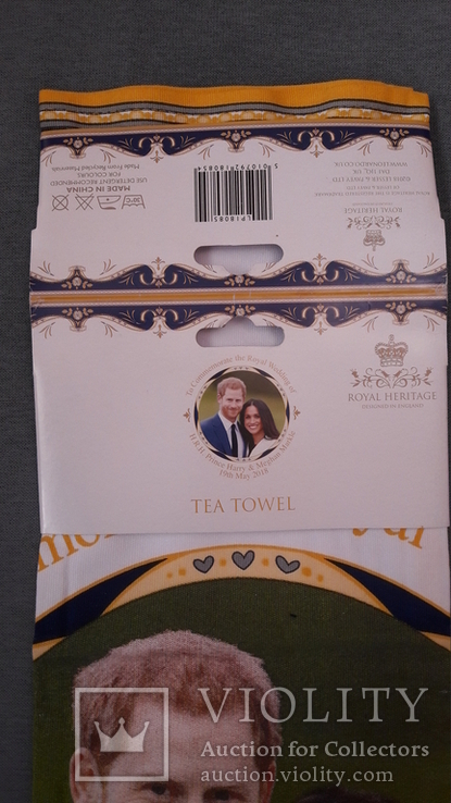 Чайная скатерть новая. Принц Гарри и Меган Маркл., фото №3