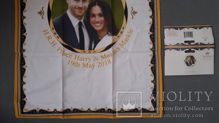 Чайная скатерть новая. Принц Гарри и Меган Маркл., фото №8