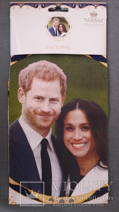 Чайная скатерть новая. Принц Гарри и Меган Маркл., фото №11