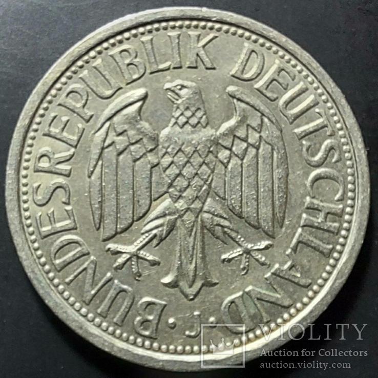 ФРГ. 2 марки 1951г. (J Гамбург) редкая монета, фото №2
