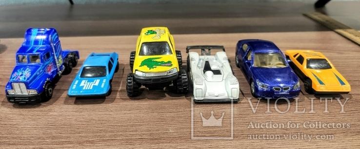 Игрушки 90-х. Модельки. Машинки. 6 штук, фото №3