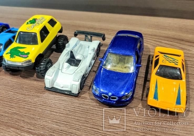 Игрушки 90-х. Модельки. Машинки. 6 штук, фото №4