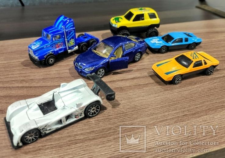Игрушки 90-х. Модельки. Машинки. 6 штук, фото №2