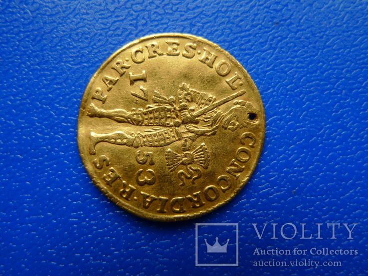 Дукат. Голландия. 1753 год, фото №3