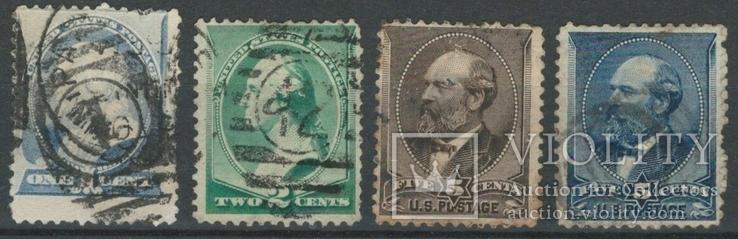О041 США 1887-88 (24 евро)