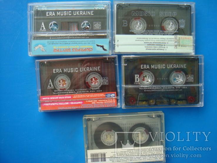 Аудиокассеты 18 штук: Детские, Рок, Релакс, английский, 1 новая., фото №6