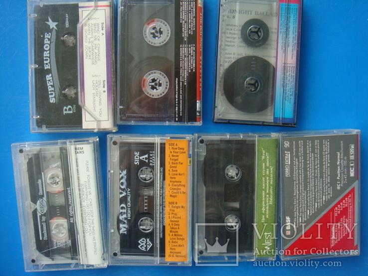 Аудиокассеты 18 штук: Детские, Рок, Релакс, английский, 1 новая., фото №8