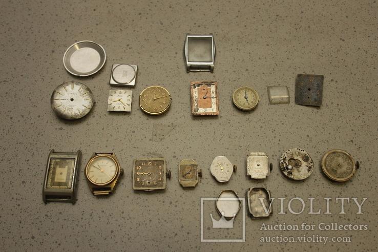 Лот механизмов от швейцарских часов  13 шт, фото №2