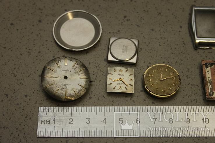Лот механизмов от швейцарских часов  13 шт, фото №3