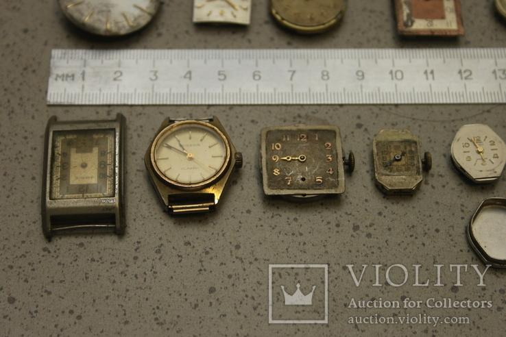 Лот механизмов от швейцарских часов  13 шт, фото №6