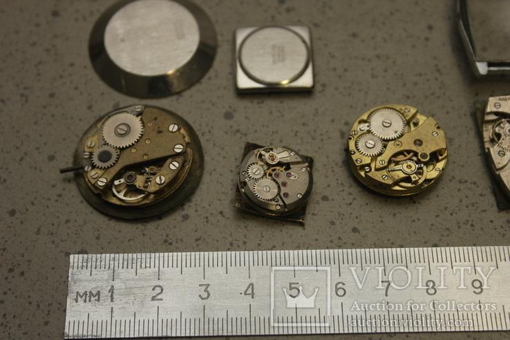 Лот механизмов от швейцарских часов  13 шт, фото №8