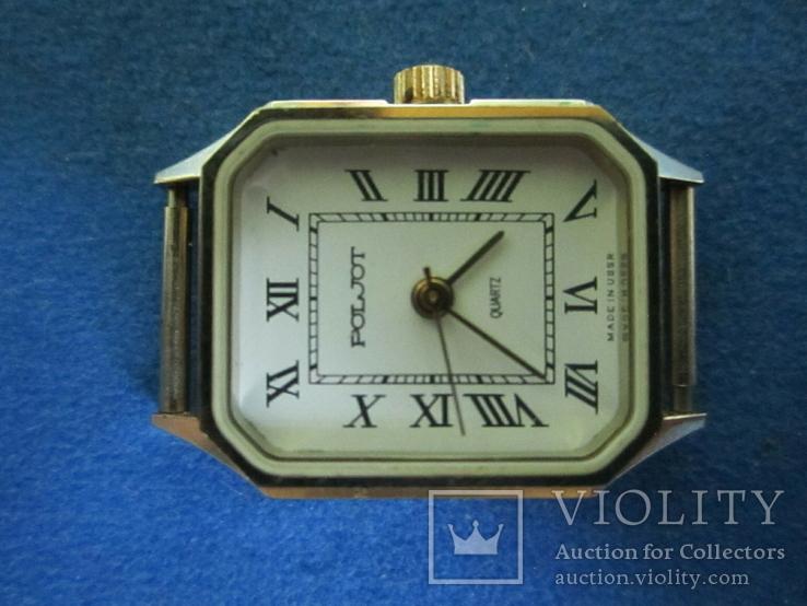Часы полет кварц женские в позолоте под ремонт., фото №7