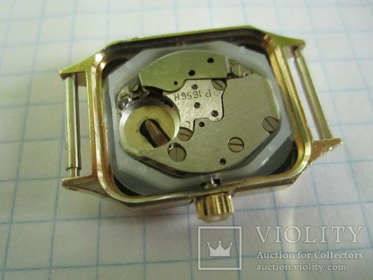 Часы полет кварц женские в позолоте под ремонт., фото №12