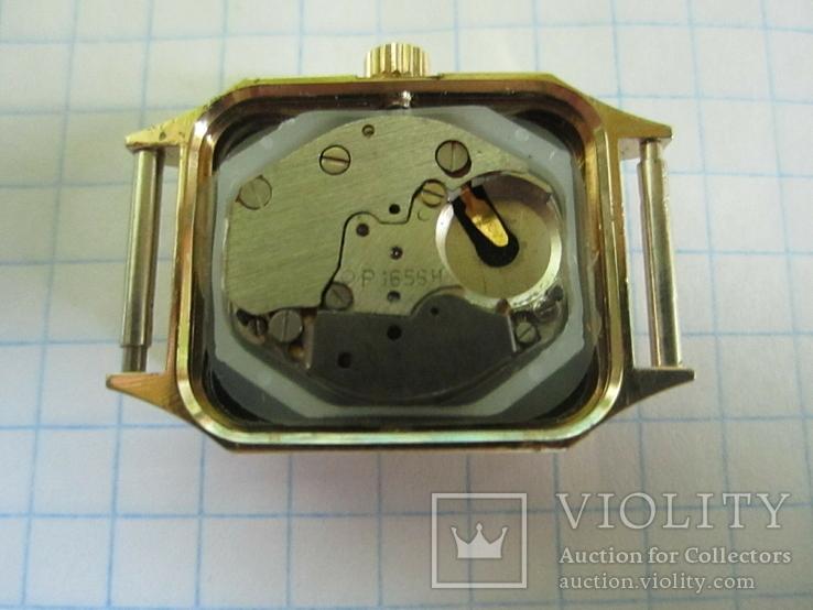 Часы полет кварц женские в позолоте под ремонт., фото №13