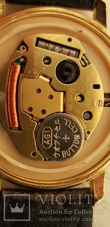 Часы кварцевые Швейцария женские nsaa basketball 2005, фото №13