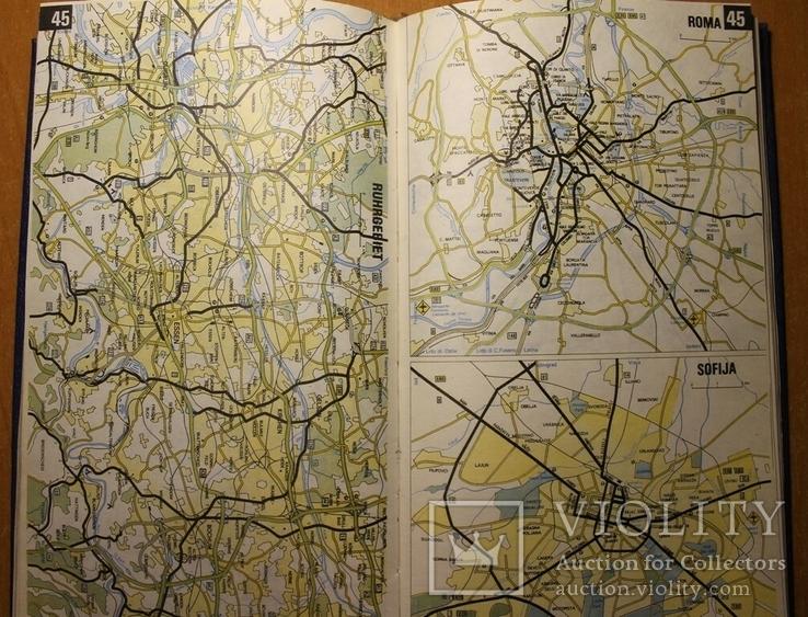 Атлас автодорог Европа, фото №6