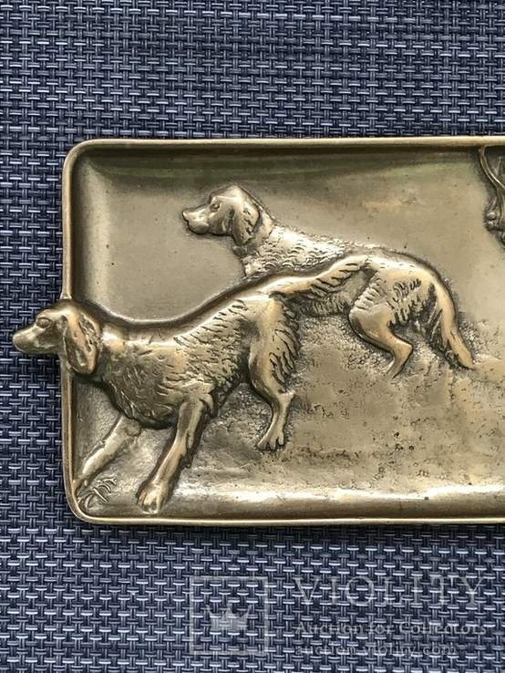 Пепельница «Охотничьи собаки», Голландия, фото №6