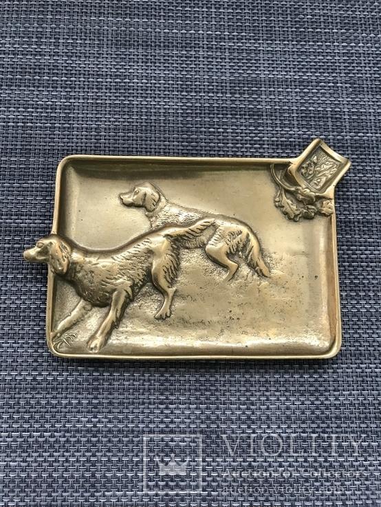 Пепельница «Охотничьи собаки», Голландия, фото №13