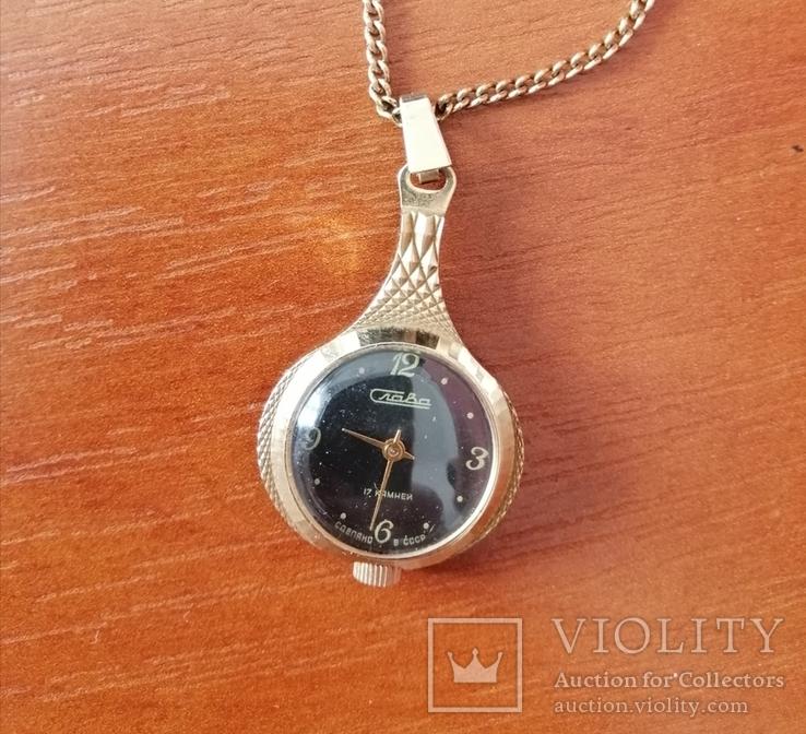Часы кулон Слава, фото №2