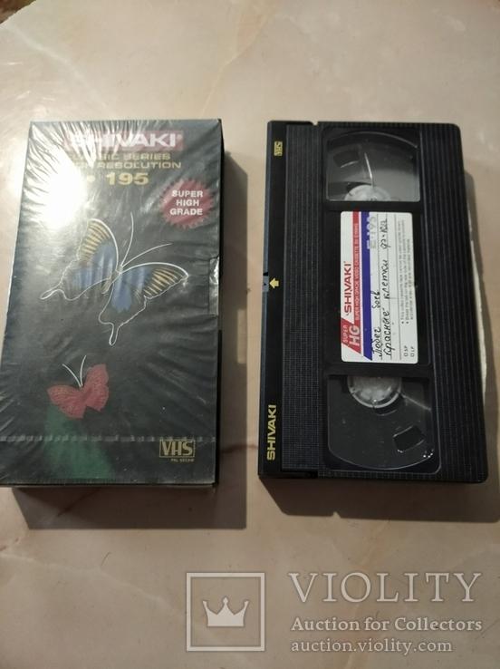 """Видеокассета: Фильмы """"Побег"""", """"Красные клетки"""""""
