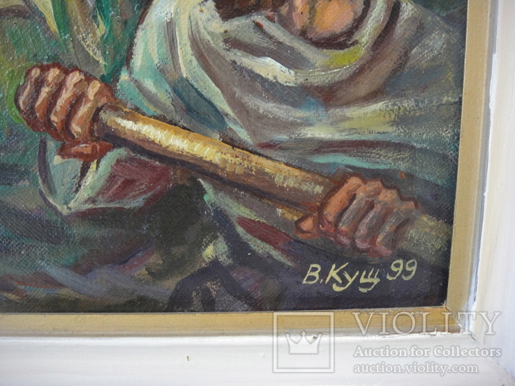 Кущ.В.Н. Исус на море., фото №5