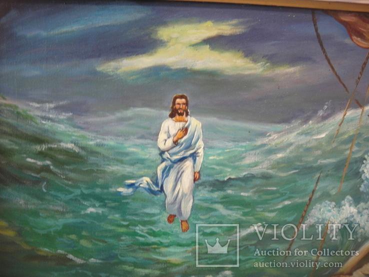 Кущ.В.Н. Исус на море., фото №6
