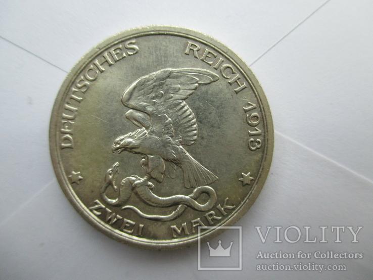 2 марки 1913 год. Юбилейная., фото №3