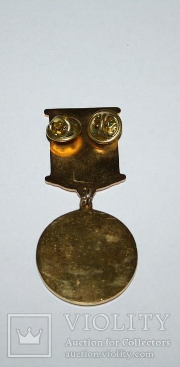 "Медаль ""4 года Межд.комитета ООН по защите прав человека в Украине"", фото №6"
