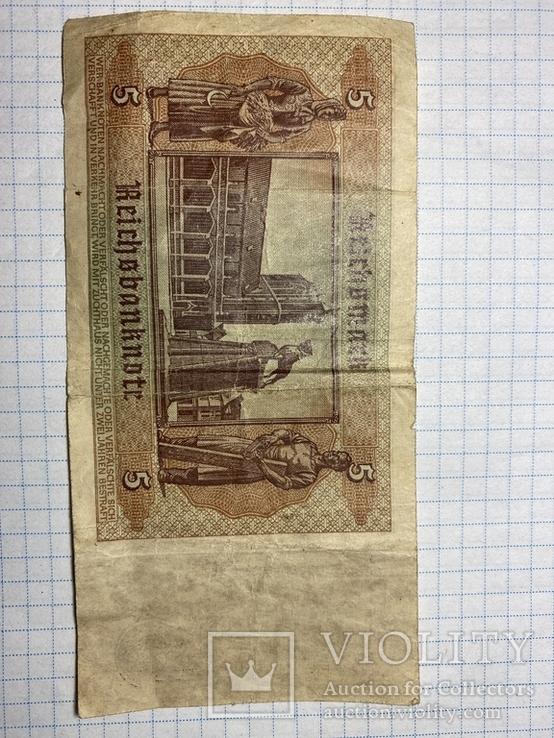 5 рейхсмарок 1942, фото №3