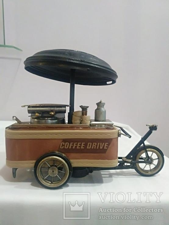 Вело кофейня. Ручная работа.