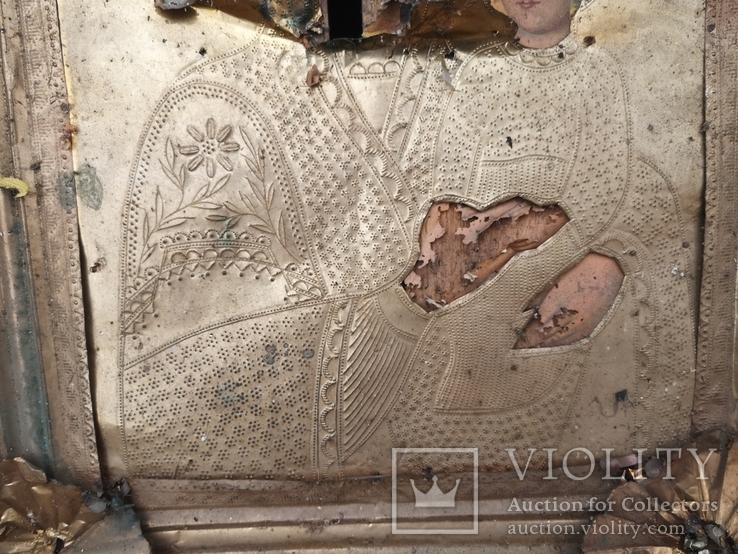 Богородиця в кіоті 50х60см, фото №5