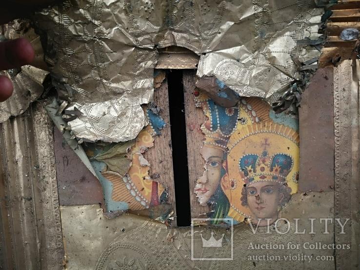 Богородиця в кіоті 50х60см, фото №6