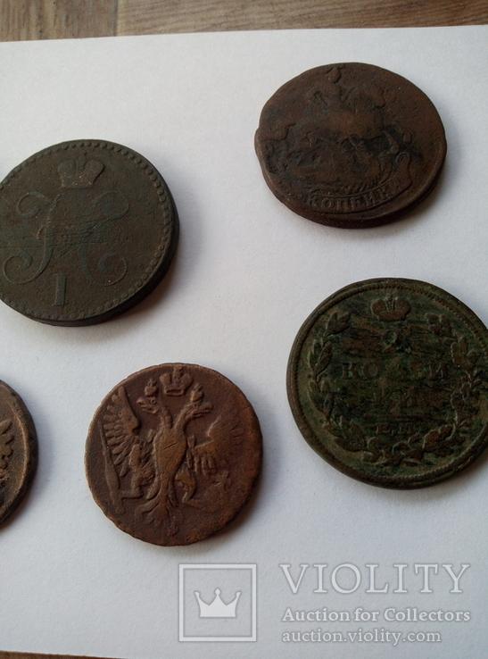 Монети царских времен. Находки комрата., фото №6