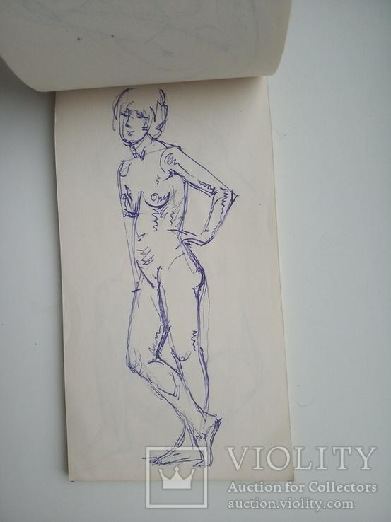 Блокноти з записами і малюнками художника Чалий, фото №2