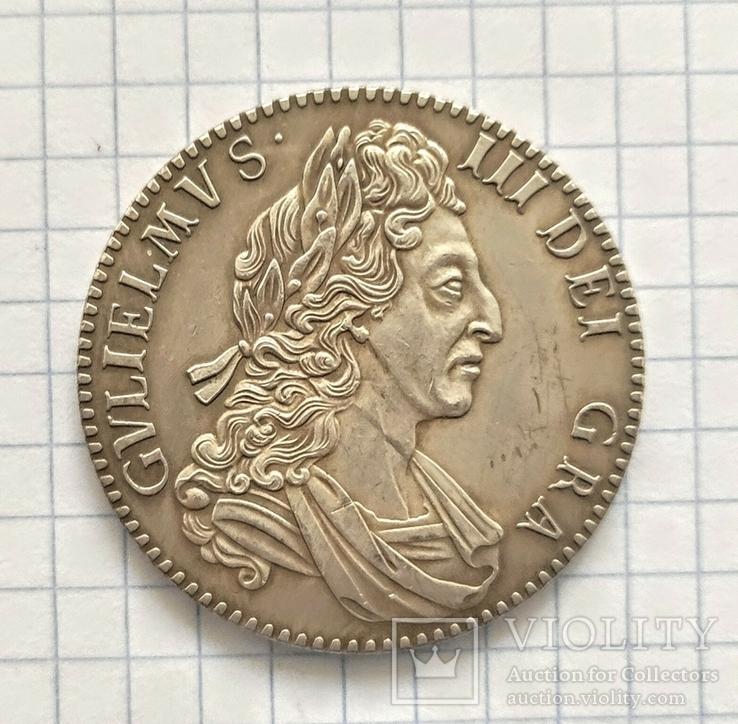 Английская монета. 1700 год. Реплика, фото №2