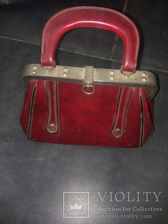 Винтажная женская сумочка СССР, фото №3