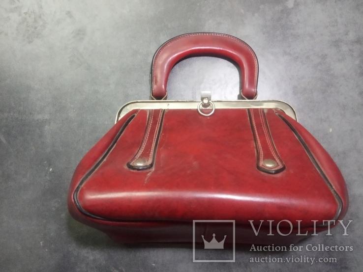 Винтажная женская сумочка СССР, фото №2