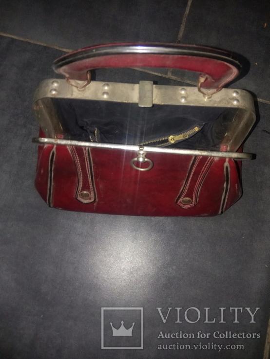 Винтажная женская сумочка СССР, фото №6