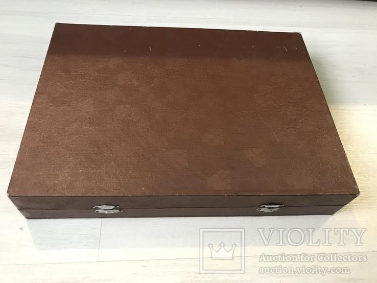 Футляр для столовых принадлежностей ( р-р 33х24х5,5см) б/у, фото №3