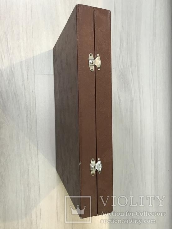 Футляр для столовых принадлежностей ( р-р 33х24х5,5см) б/у, фото №4
