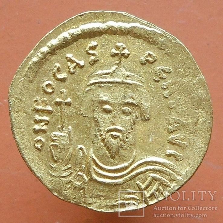 Византия: Фока (602-610). Солид.