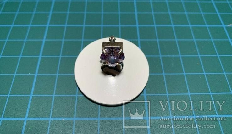 1 Серьга серебро, фото №5